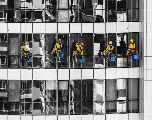 Fensterreinigung Glasreinigung